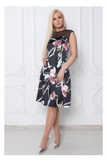 """Платье """"Терезия"""" Саломея (Цветочный орнамент)"""