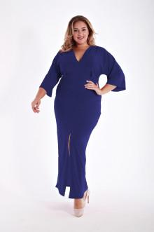 Платье 1213302 ЛаТэ (Темно-синий)
