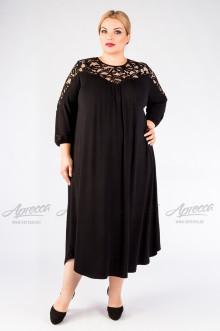 """Платье """"Артесса"""" PP07139BLK00 (Черный)"""